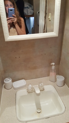 2005 Gulfstream Cavalier bathroom sink